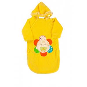 Осенне-Весенний Конверт для новорожденных Kika Toys Желтый (kj3029)