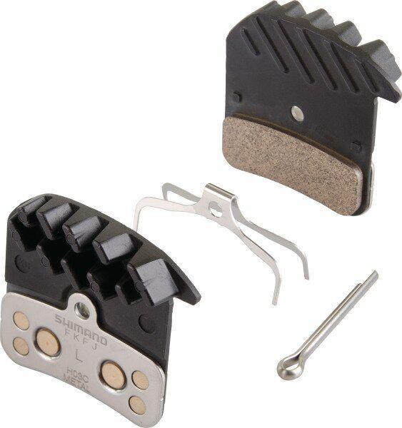 Гальмівні колодки H03C+радіатор, метал