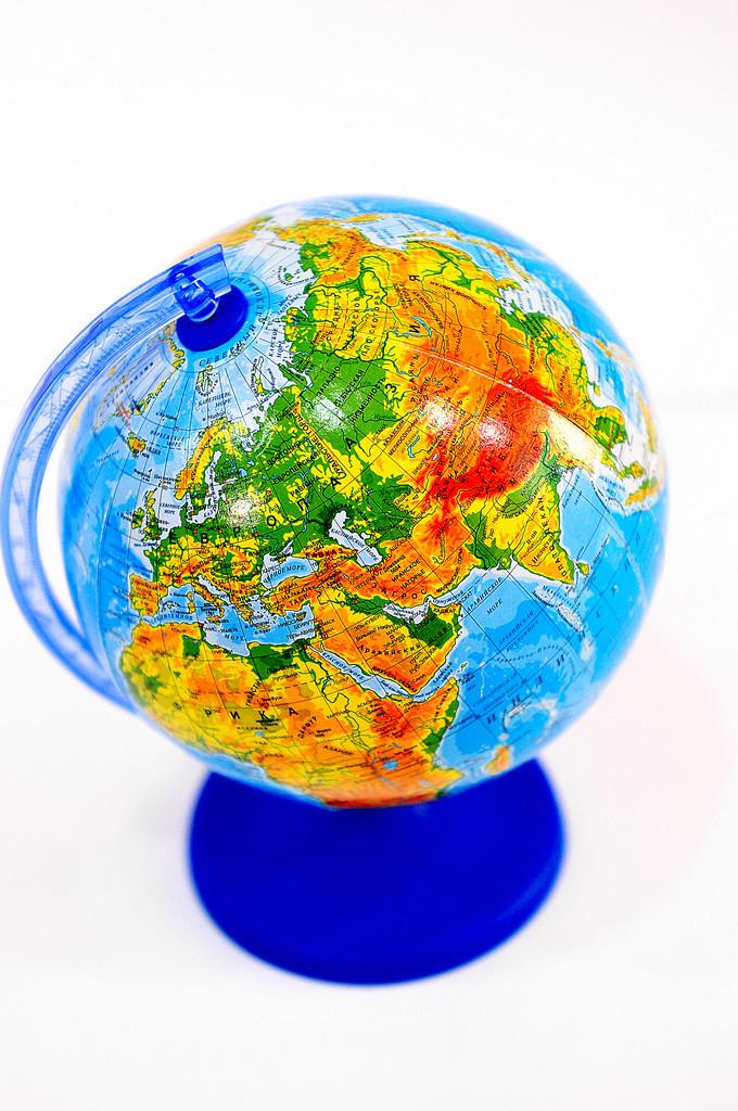 Глобус настольный Glowala 220 мм (BST 540079)