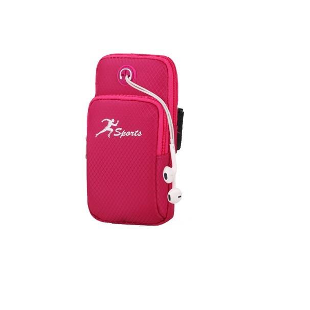 Сумка для бігу / сумка - чохол на руку iRun Red (HbP050617)
