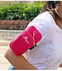 Сумка для бігу / сумка - чохол на руку iRun Red (HbP050617), фото 2