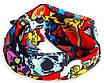 Бандана-трансформер JiaBao 25х48 см Разноцветные черепа (HB-F074), фото 2
