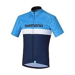 Велоджерси Shimano TEAM2, синее, разм. S, Синий, S
