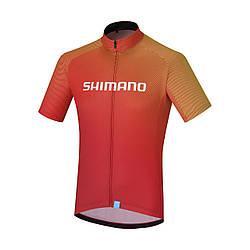 Велоджерси Shimano TEAM2, красне, разм. S, Красный, S