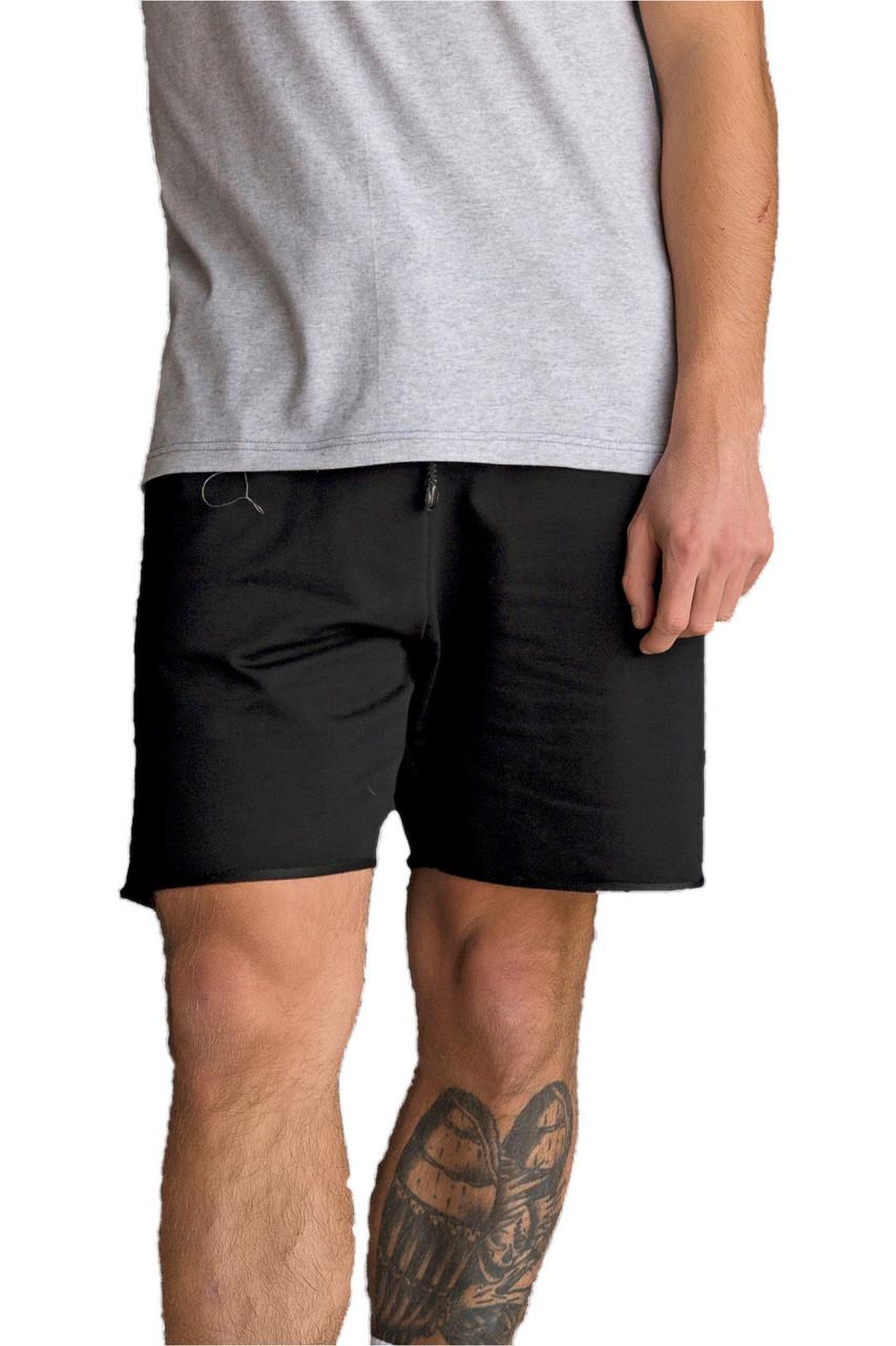 Шорти чоловічі підворотом Forward трикотажні Чорні XL (SP01-XLBL)