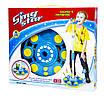 Дитячий іграшковий караоке-мікрофон зі стійкою Sing Blue Star (HT158B), фото 3
