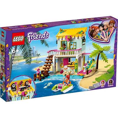 Конструктор Lego Friends Пляжный домик 444 детали (41428)