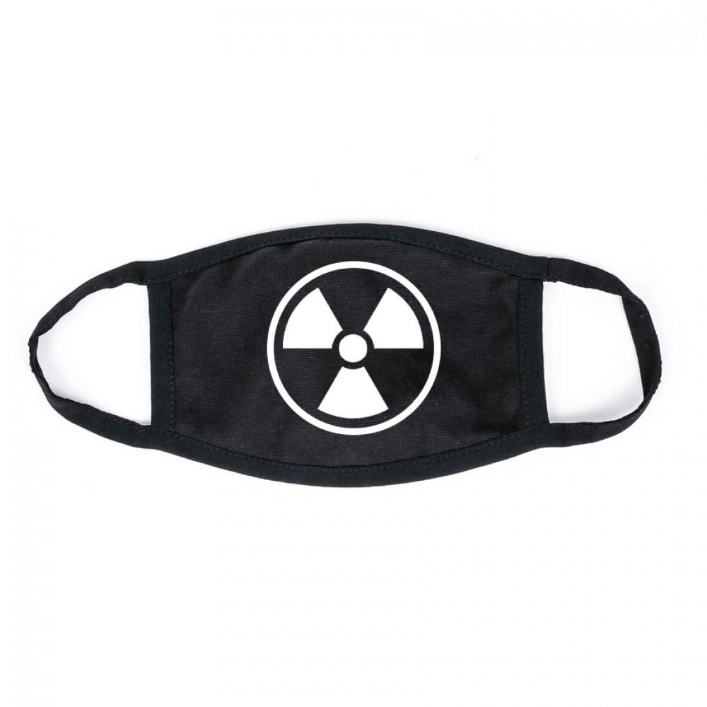 Захисна маска MSD Virus-Cobra x black багаторазова двошарова Чорний (5816)