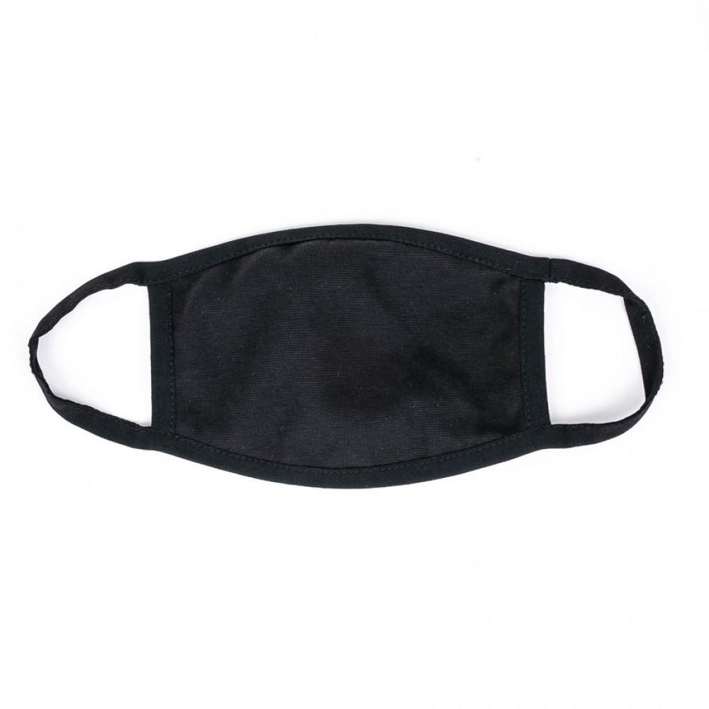 Защитная маска для лица MSD Virus- x x black многоразовая Черный (5822)