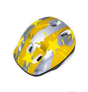 Защитный шлем обычный Stars Размер S: 50-54 см Yellow (1232579173)