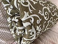 Одеяло тёплое двухспальное овечье| Одеяло шерстяное зимнее| Одеяло из овечьей шерсти 175*210