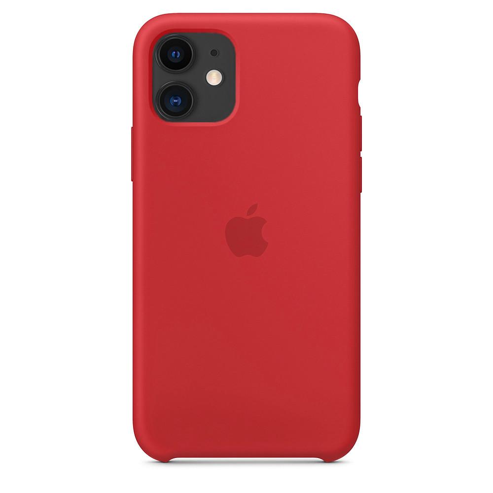 Панель Armorstandart Silicone Case для Apple iPhone 11 Red