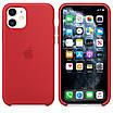 Панель Armorstandart Silicone Case для Apple iPhone 11 Red, фото 4