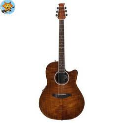 Электроакустическая гитара Ovation AB24IIP-VF Mid Cutaway Vintage on Flame