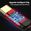 Кабель синхронізації Topk PD USB Type-C Power Delivery 60W 3A 1m нейлоновий Червоний (TKP42C-VER2-RD), фото 6