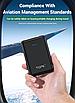 УМБ Power Bank Topk Mini 2xUSB 5000 mAh Черный (TK0503-BL), фото 10