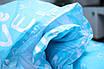 Простынь Brettani 150х220см Бязь Голубой (10079), фото 3