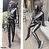 Шикарная женская куртка из эко кожи 0433 (47), фото 3