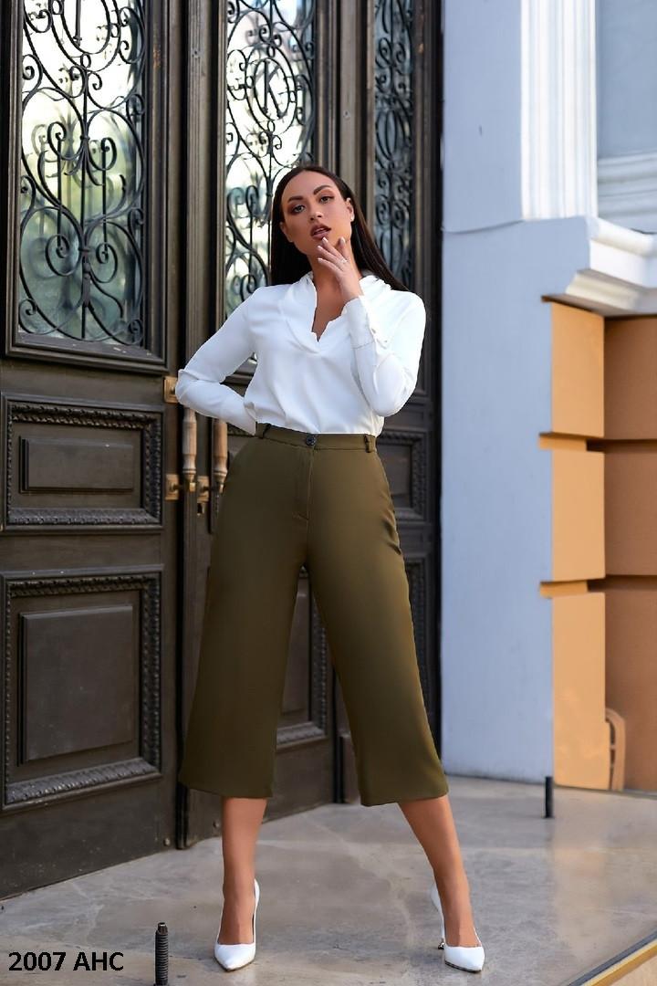 Модные женские штаны килоты батал 2007 АНС