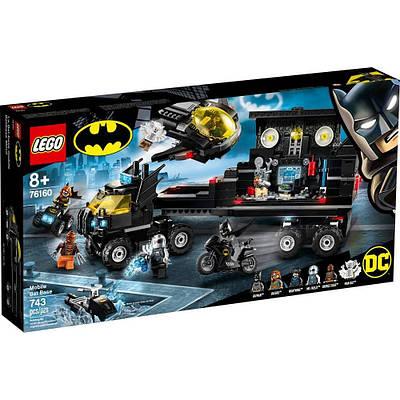 Конструктор Lego Super Heroes Мобильная база Бэтмена 743 деталей (76160)