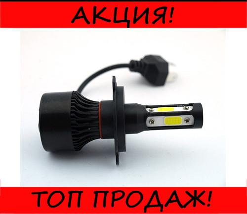 Автомобильные LED лампы F7 H4