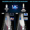 Автомобильные LED лампы S9 H7, фото 3