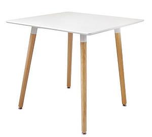 Стол обеденный SDM Нури 80 х 80 см квадратный Белый (37664)