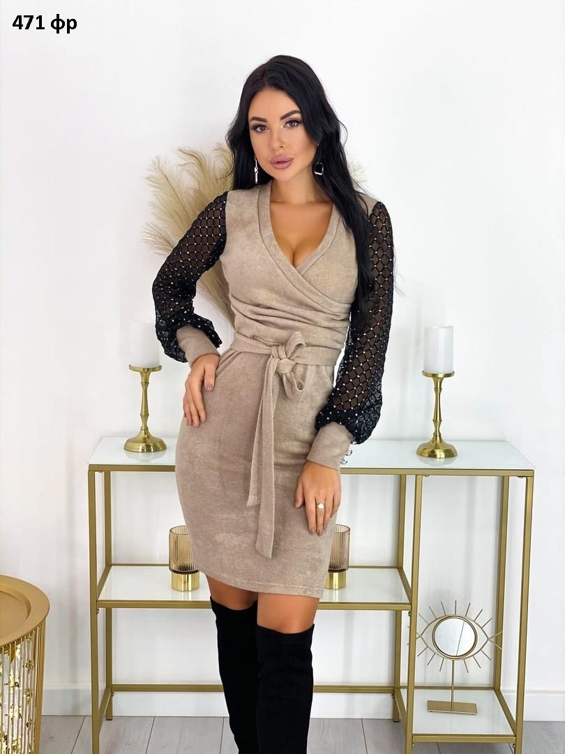 Элегантное женское платье 471 фр