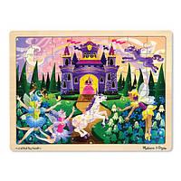 Melissa & Doug Деревянный пазл Сказочная фантазия 48pc Wooden Jigsaw Puzzle - Fairy Fantasy