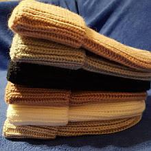 Женская серая шапка код 7375