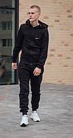 Мужские спортивные костюмы Nike Зимний спортивный костюм найк Спортивный мужской теплый костюм