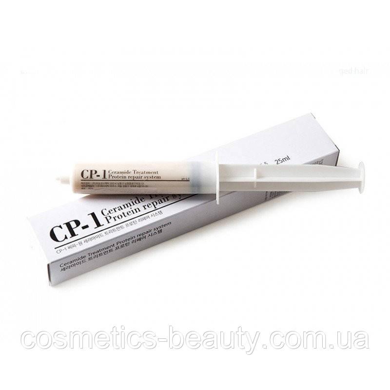 Протеиновая сыворотка для поврежденных волос Esthetic House CP-1 Premium Silk Ampoule, 25 ml.