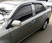 Вітровики, Дефлектори вікон Geely MK 2006- (Anv), фото 1