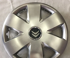 Колпаки Citroen R15 (Комплект 4шт) SJS 308
