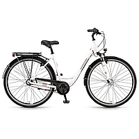 """Велосипед Winora Hollywood N7 monotube 7 s. Nexus 28"""", рама 45 см, белый, 2020 (AS)"""