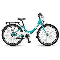 """Велосипед Winora Chica 3 s. Nexus CB 24"""", рама 32 см, голубой матовый, 2020 (AS)"""