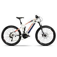 """Электровелосипед Haibike SDURO FullSeven LT 5.0 i500Wh 20 s. XT 27,5"""", рама L, бело-синий-оранжевый, 2020 (AS), фото 1"""