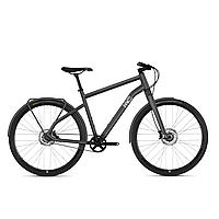 "Велосипед Ghost Square Urban Unisex 5.8 28"", рама M, серый-серебристый иридий-черный, 2020 (AS)"