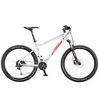 "Велосипед KTM ULTRA FUN 27"", рама S, серо-красный , 2020 (AS)"