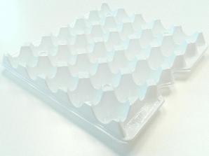 Лоток для яиц 290x290x40 мм пластиковый 1 шт. (00959)
