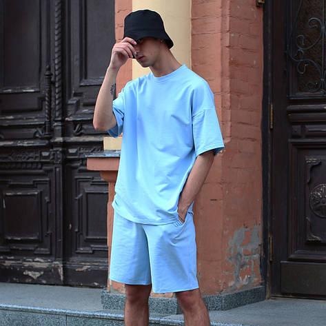 Шорты мужские голубые бренд ТУР модель Duncan (Дункан) размер S, M, L, XL M, фото 2