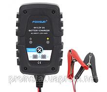 Автоматическое ЗУ для аккумулятора 6V - 12V (MF,WET,AGM,GEL), FOXSUR FBC061201, Ток заряда 6V - 12V - 1A,