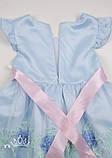 Нарядное голубое платье  для девочек, фото 6
