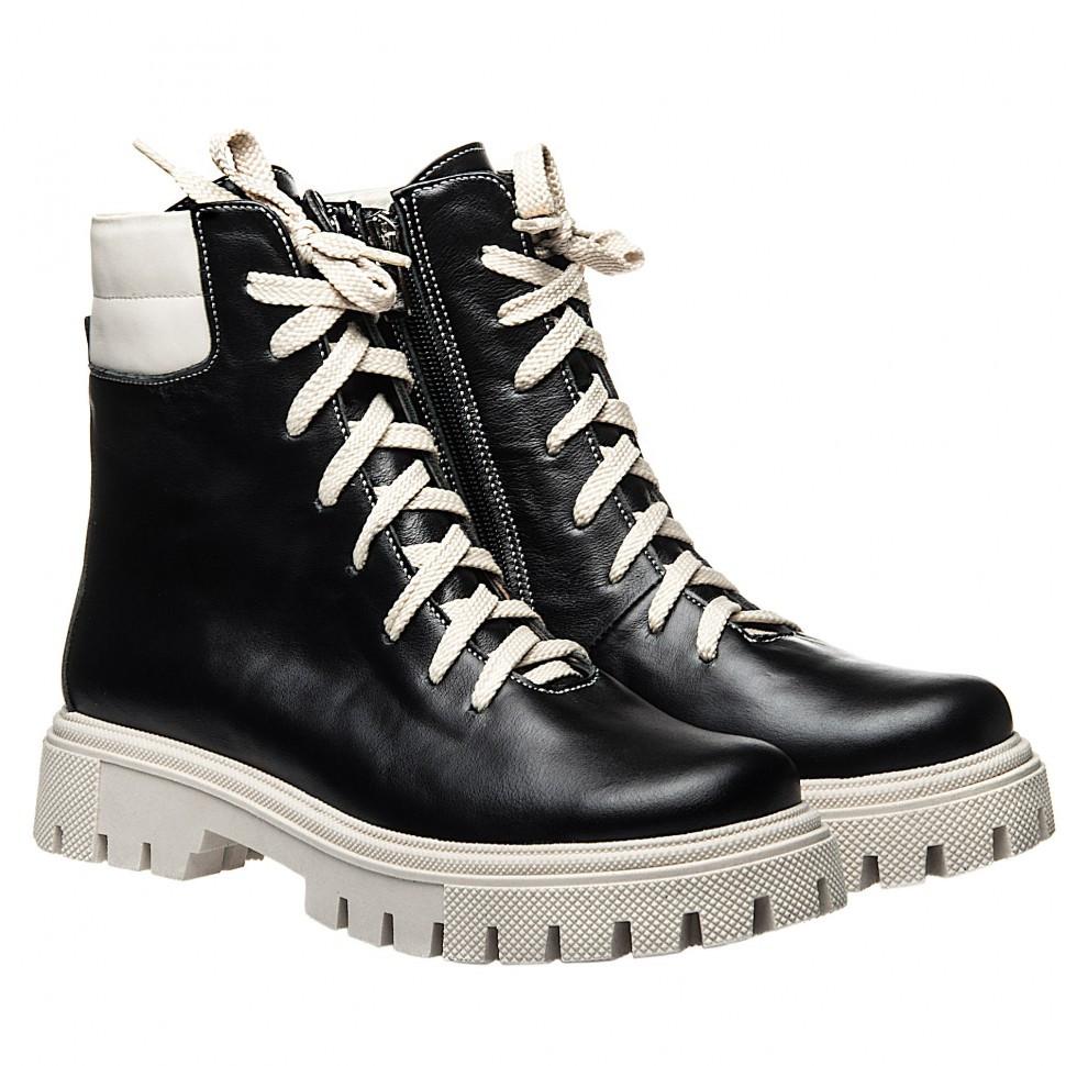 Ботинки La Rose 2331 41(26,7см) Черная кожа ЗИМНИЕ