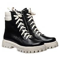 Ботинки La Rose 2331 41(26,7см) Черная кожа ЗИМНИЕ, фото 1