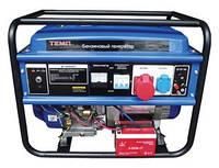Бензиновый генератор Темп БГ 6500Е\380В