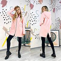 Женская удлиненная куртка, женская демисезонная куртка, фото 4