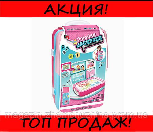 Обучающий набор для рисования Backpack Packing Розовый