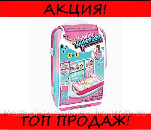 Обучающий набор для рисования Backpack Packing Розовый, фото 2