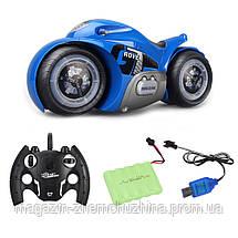 Радиоуправляемый мотоцикл Drift Motorcycle Mist Spray Car Синий, фото 3